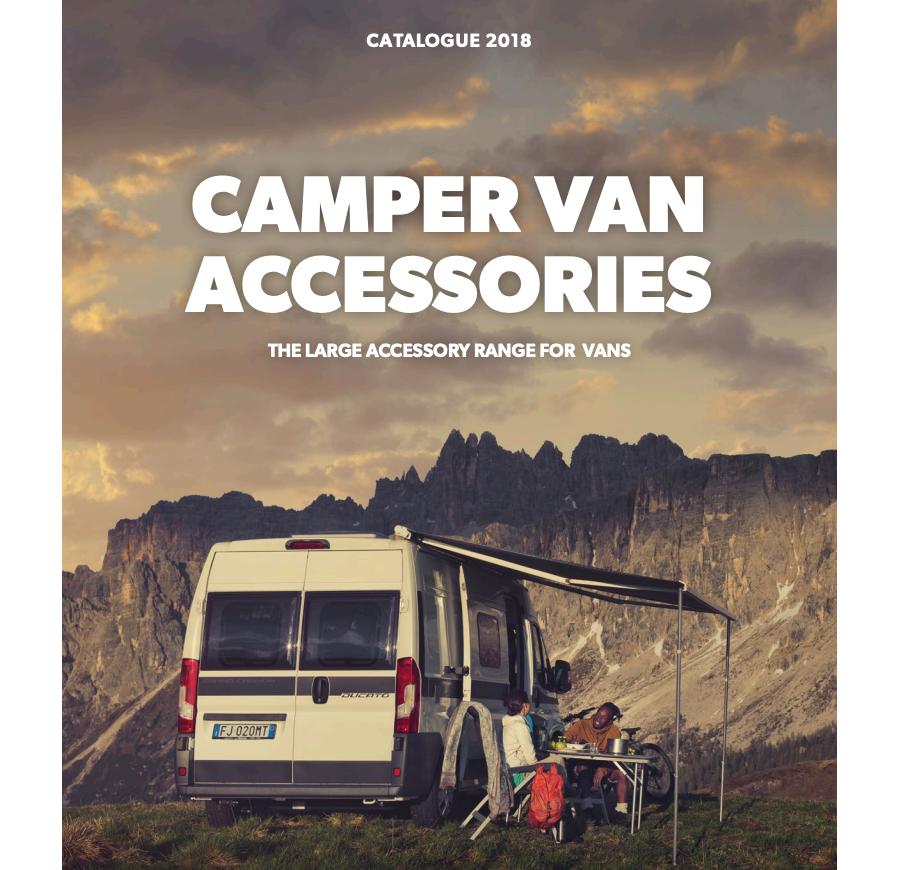 Campervan Accessories Catalog 2018 spec sheet